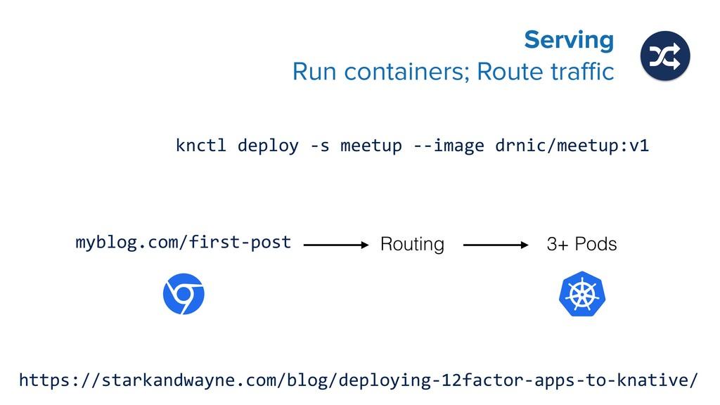 knctl deploy -s meetup --image drnic/meetup:v1 ...