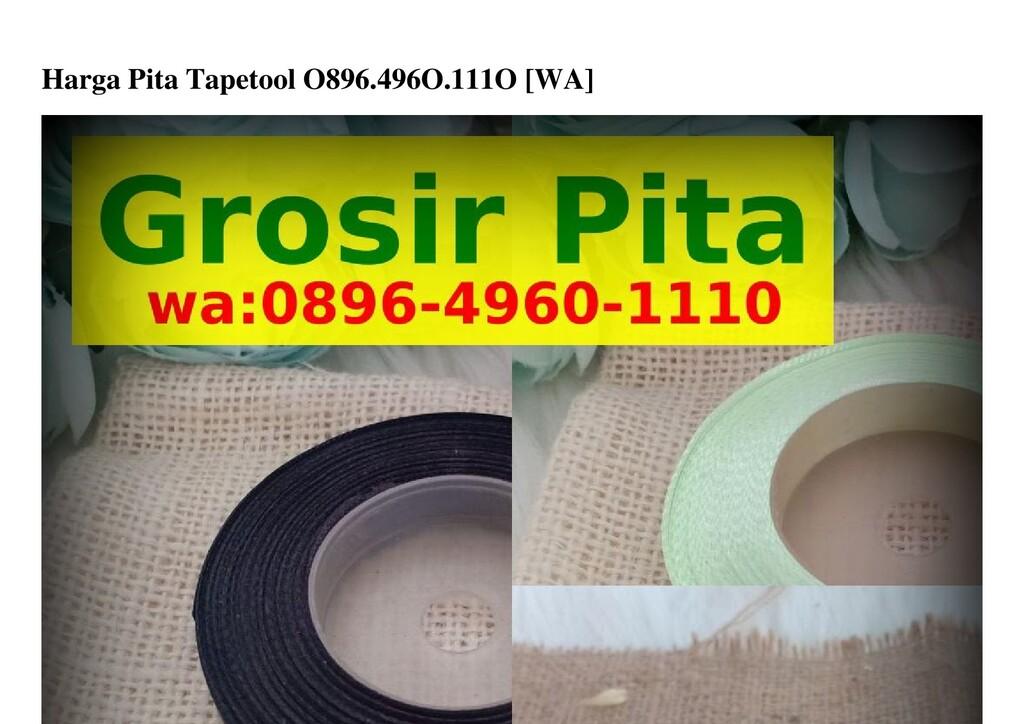 Harga Pita Tapetool O896.496O.111O [WA]