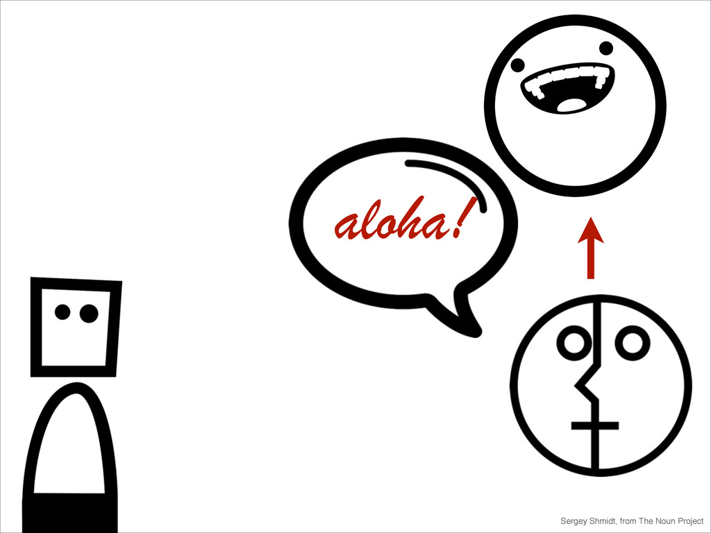 Sergey Shmidt, from The Noun Project aloha!