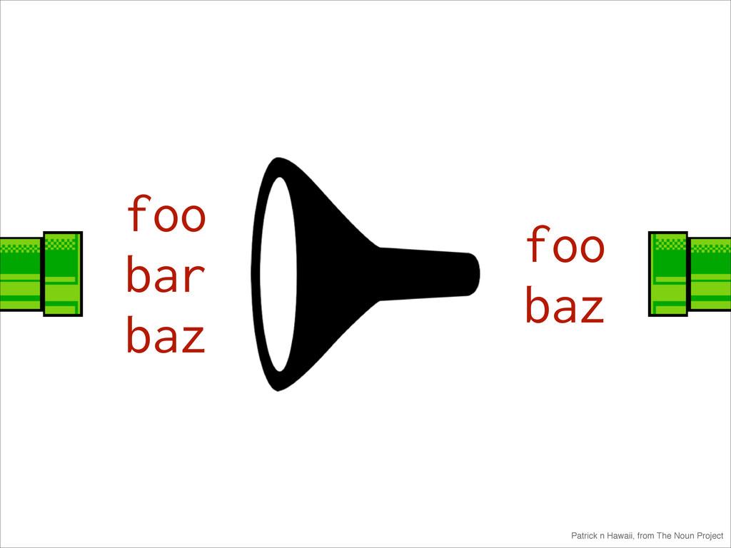 foo bar baz foo baz Patrick n Hawaii, from The ...