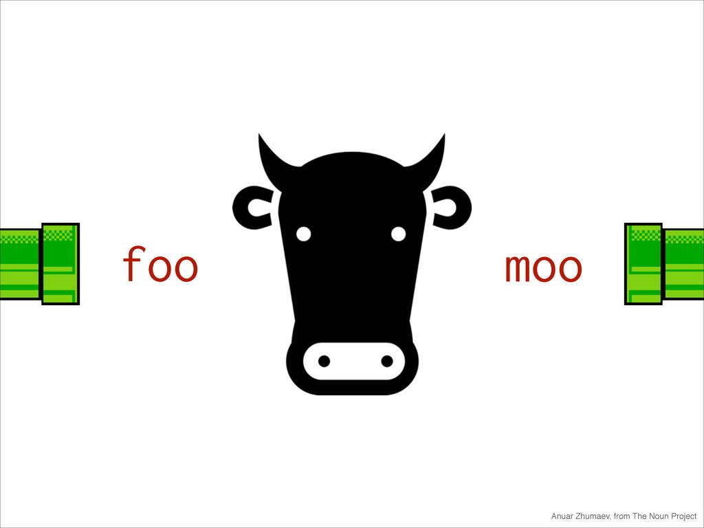 foo moo Anuar Zhumaev, from The Noun Project