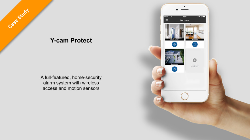 C ase Study Y-cam Protect A full-featured, home...