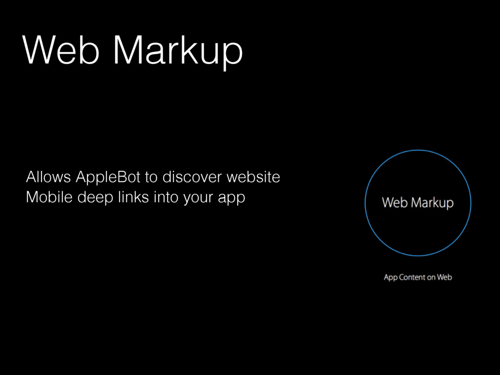 Web Markup Allows AppleBot to discover website ...