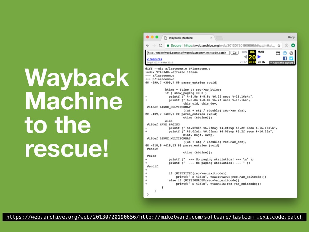 Wayback Machine to the rescue! https://web.arch...