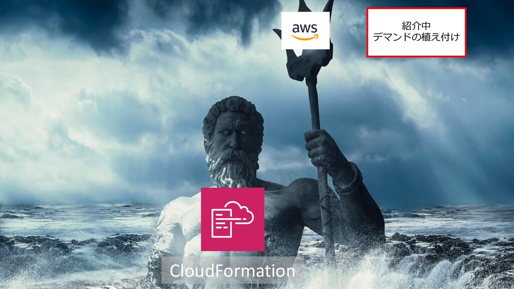 28 CloudFormation 紹介中 デマンドの植え付け