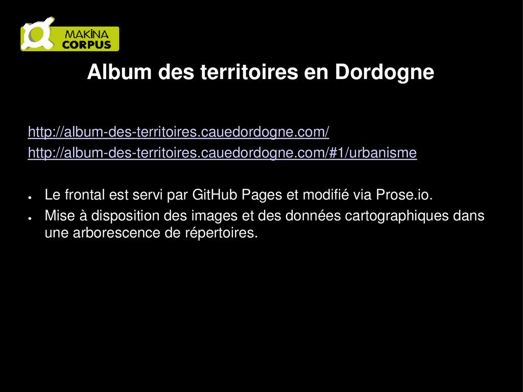 Album des territoires en Dordogne http://album-...
