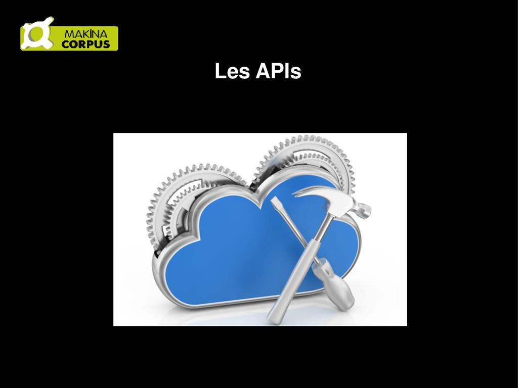 Les APIs