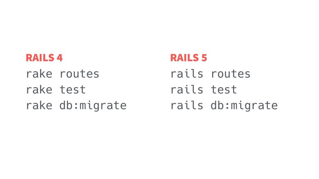 rake routes rake test rake db:migrate rails rou...