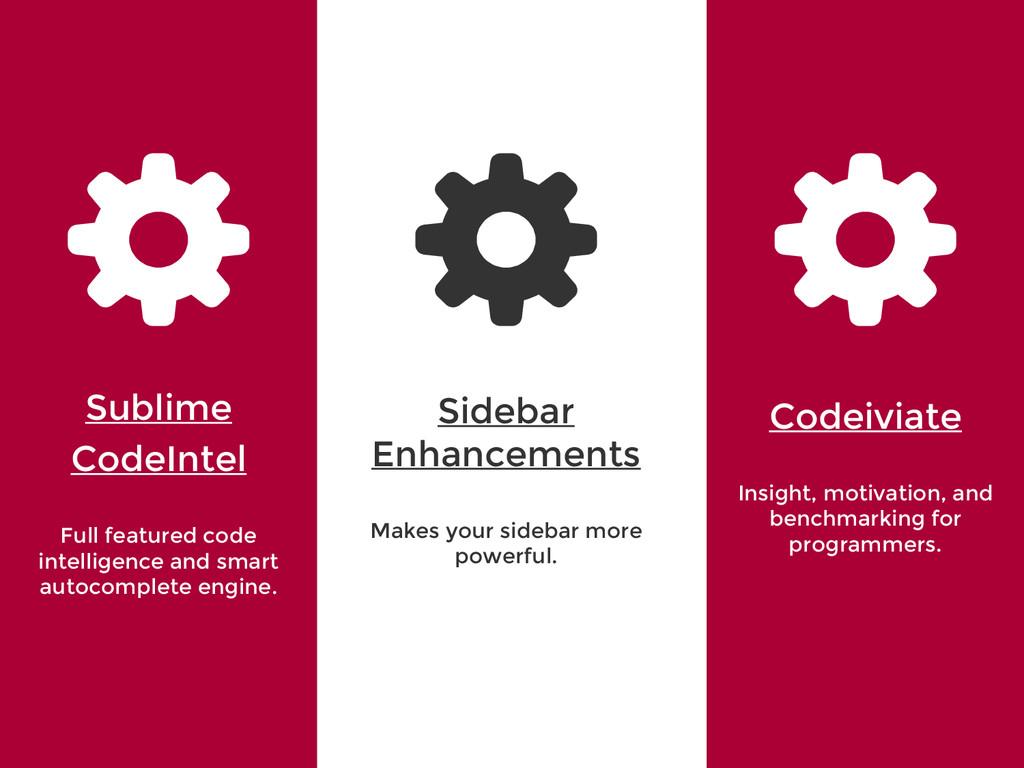 '' Sublime CodeIntel Full featured code intelli...