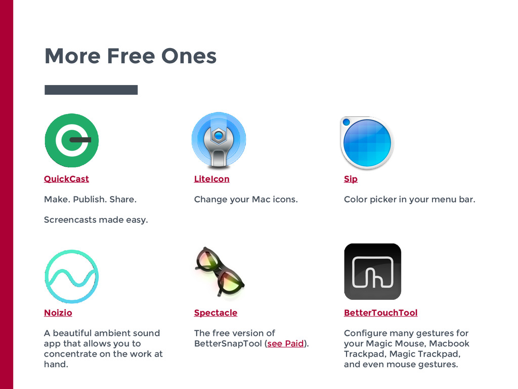 More Free Ones QuickCast Make. Publish. Share. ...