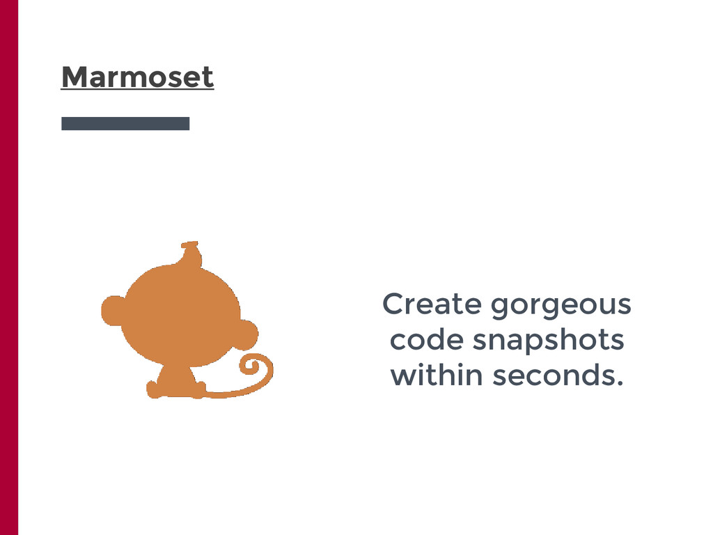 Marmoset Create gorgeous code snapshots within ...