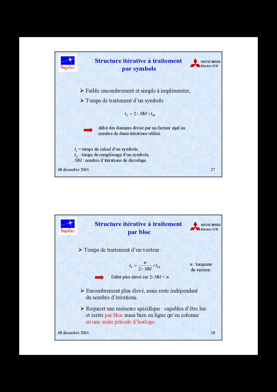08 décembre 2003 27 MITSUBISHI Electric ITE Str...
