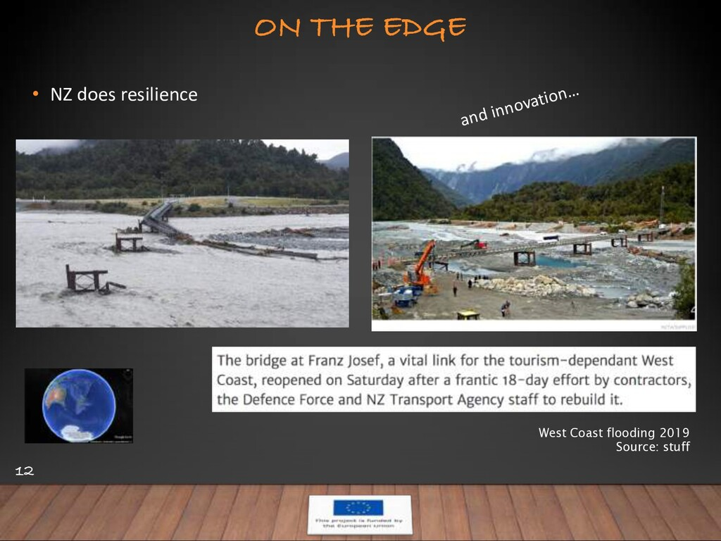 ON THE EDGE 12 • NZ does resilience West Coast ...