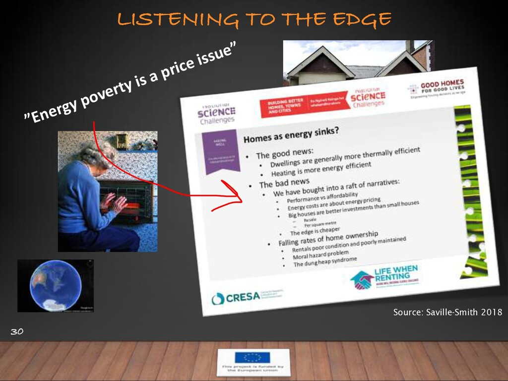 "LISTENING TO THE EDGE 30 ""Energy poverty is a p..."