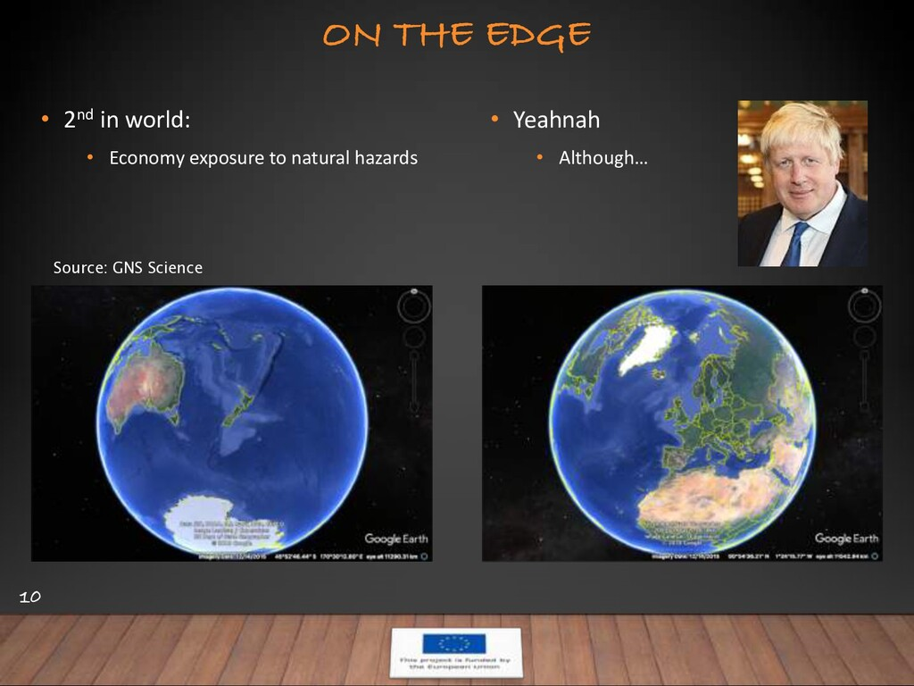ON THE EDGE 10 • 2nd in world: • Economy exposu...