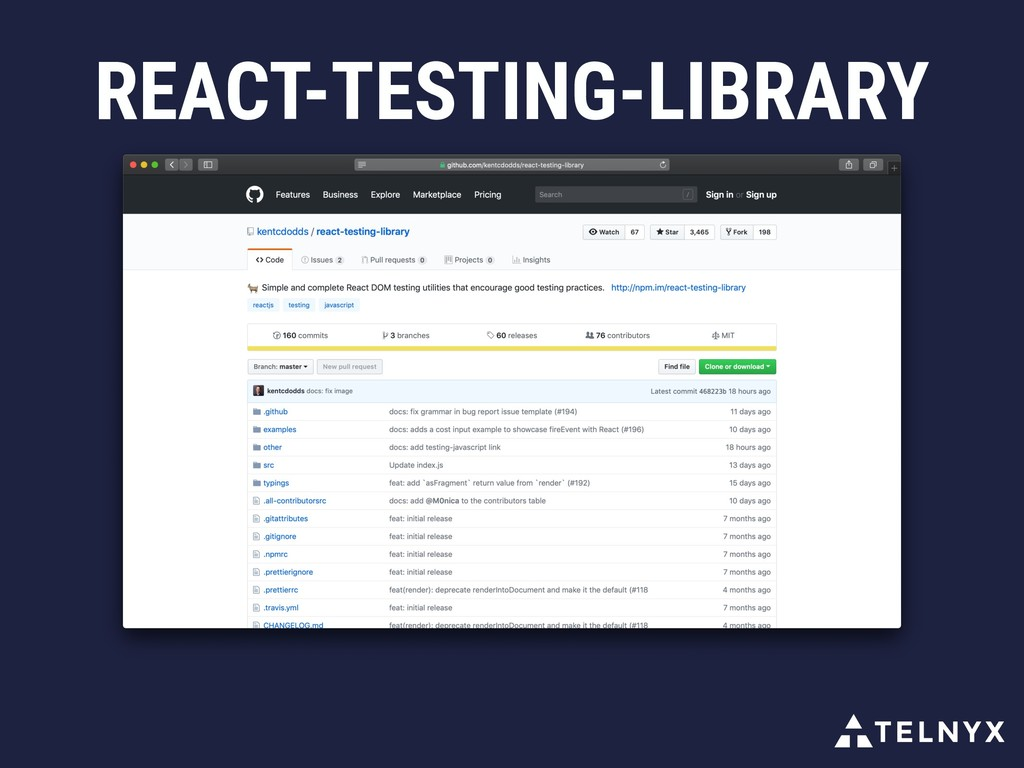 REACT-TESTING-LIBRARY