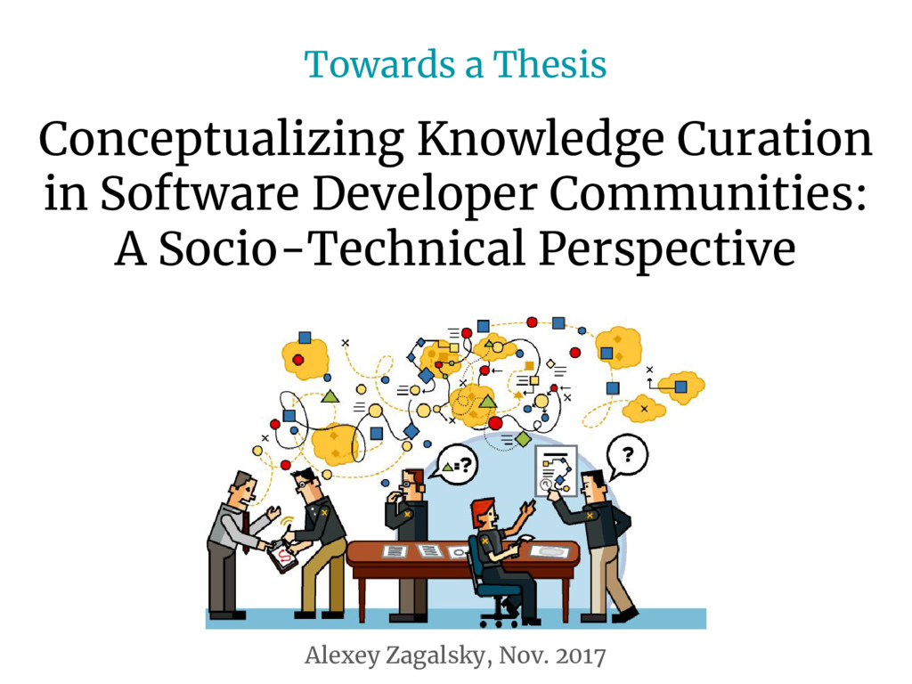 Conceptualizing Knowledge Curation in Software ...