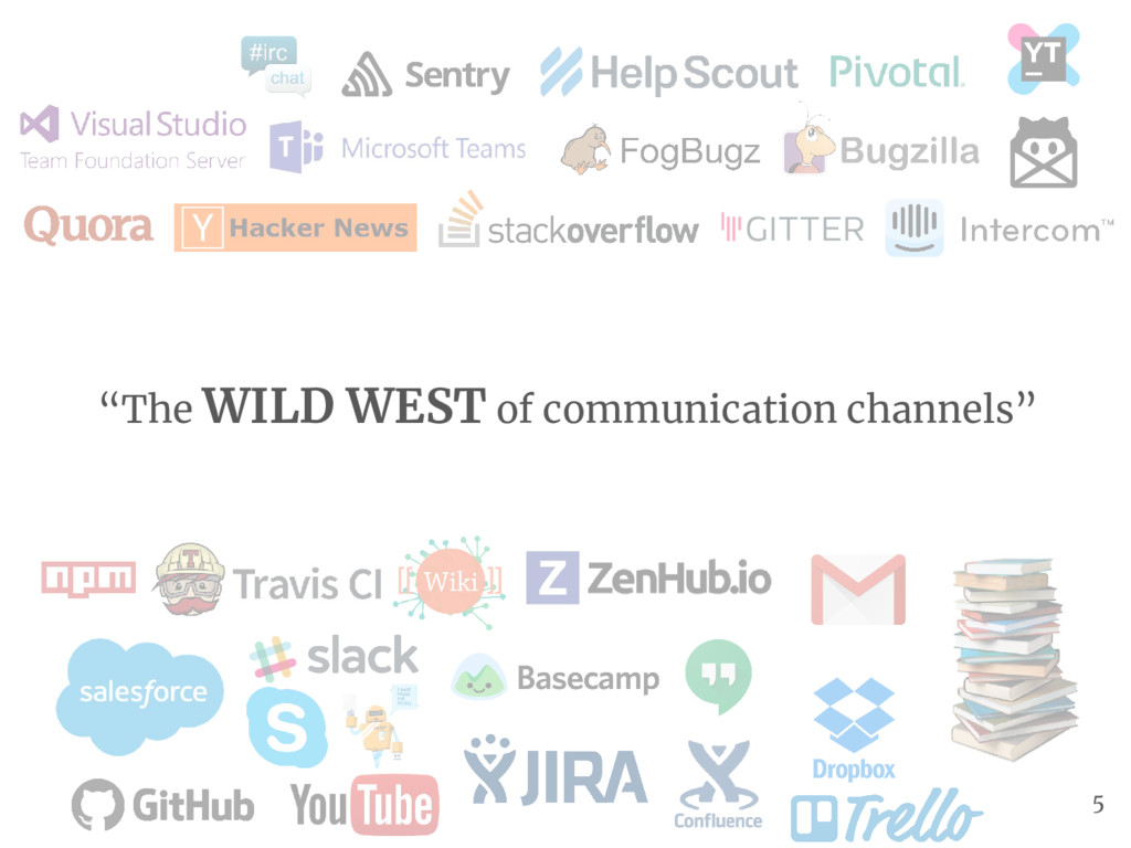 """The WILD WEST of communication channels"" 5"