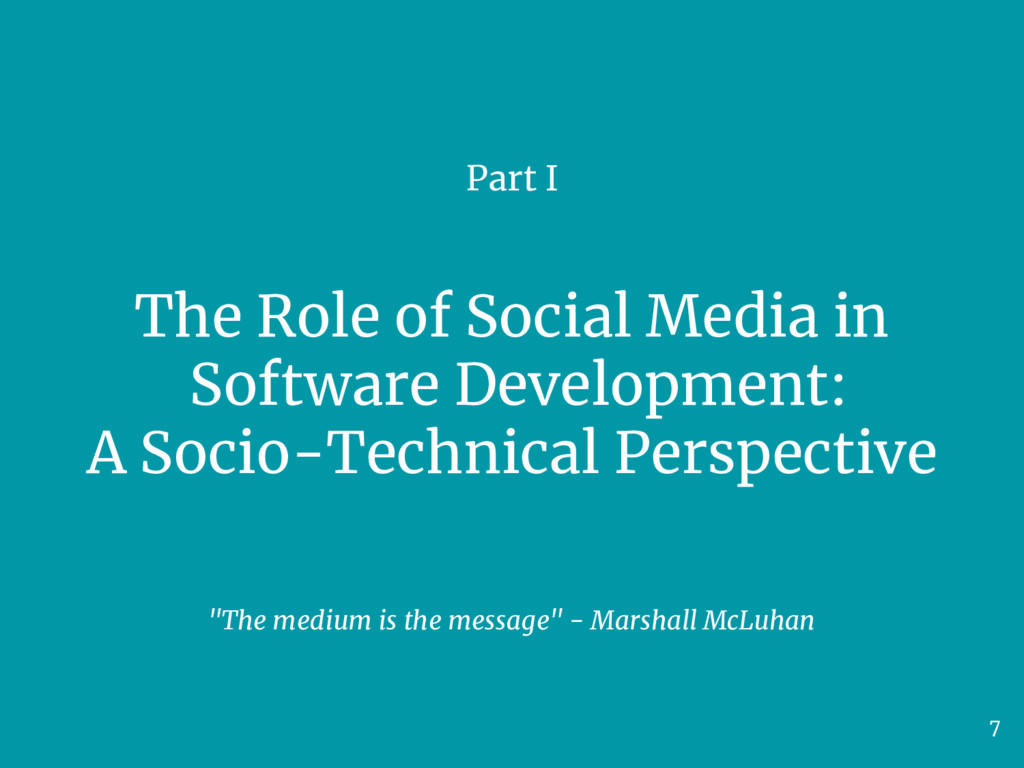 The Role of Social Media in Software Developmen...