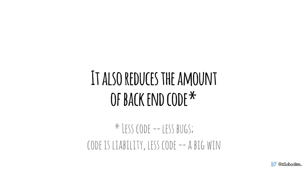 @slobodan_ It also reduces the amount of back e...