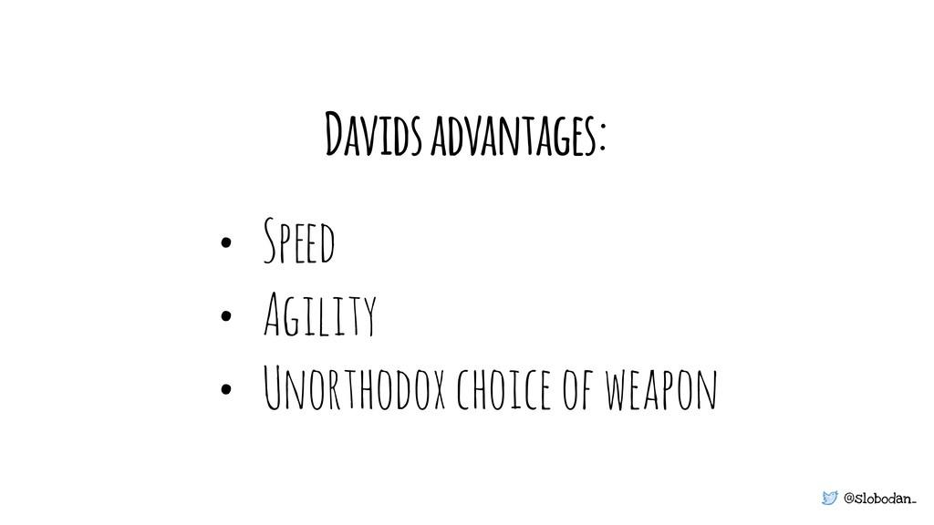 @slobodan_ • Sp!d • Agility • Unorthodox choice...
