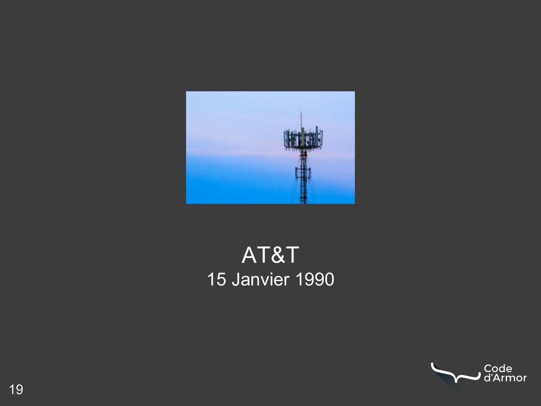 19 AT&T 15 Janvier 1990