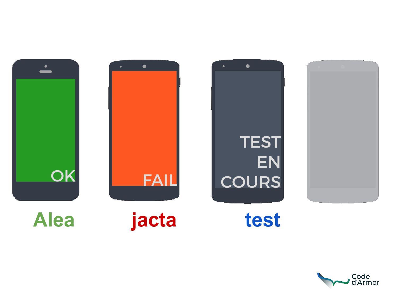 Alea jacta test