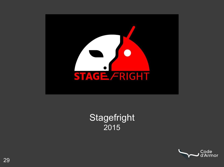 29 Stagefright 2015