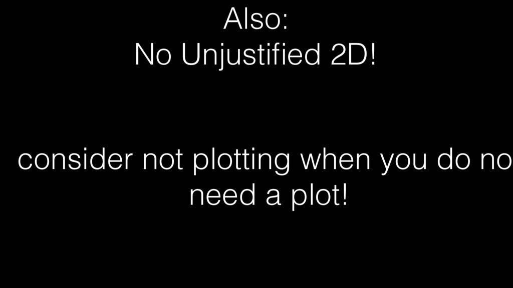 Also: No Unjustified 2D! consider not plotting w...