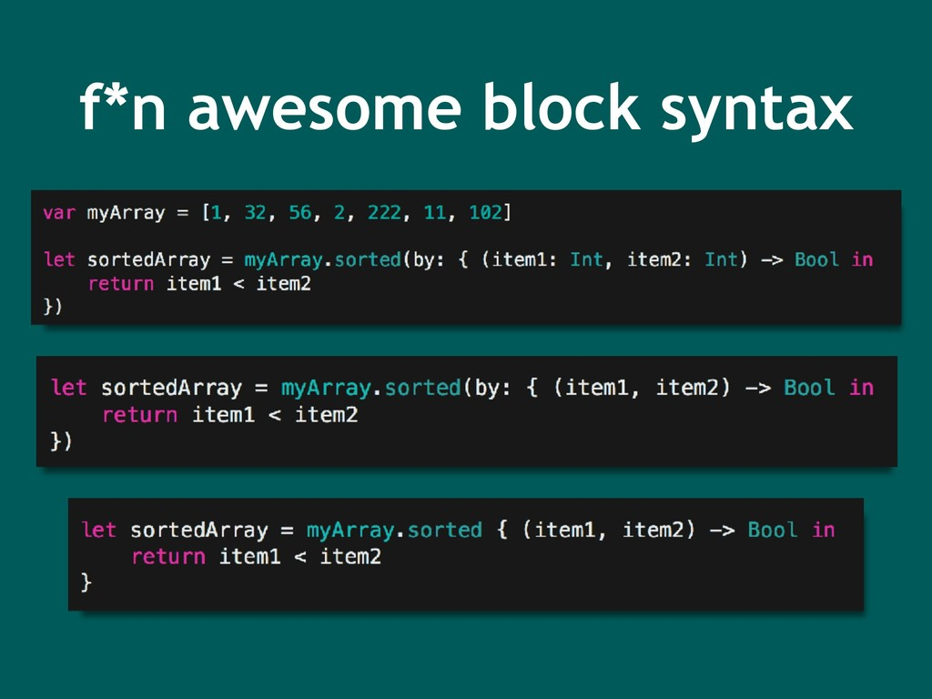 f*n awesome block syntax
