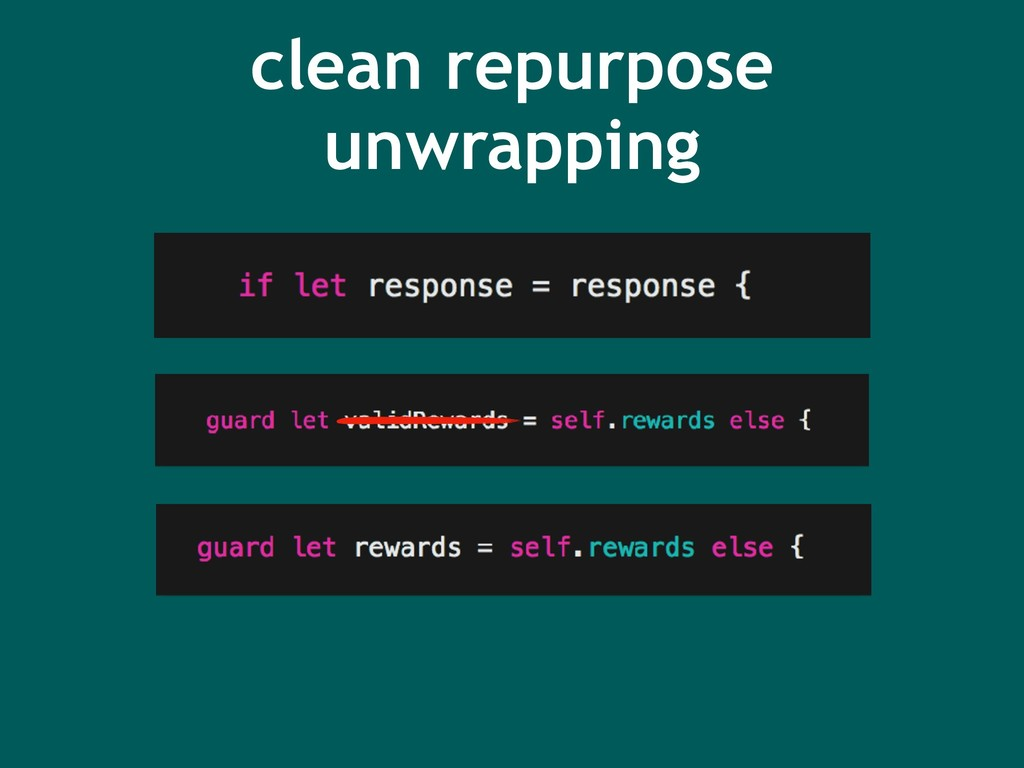 clean repurpose unwrapping