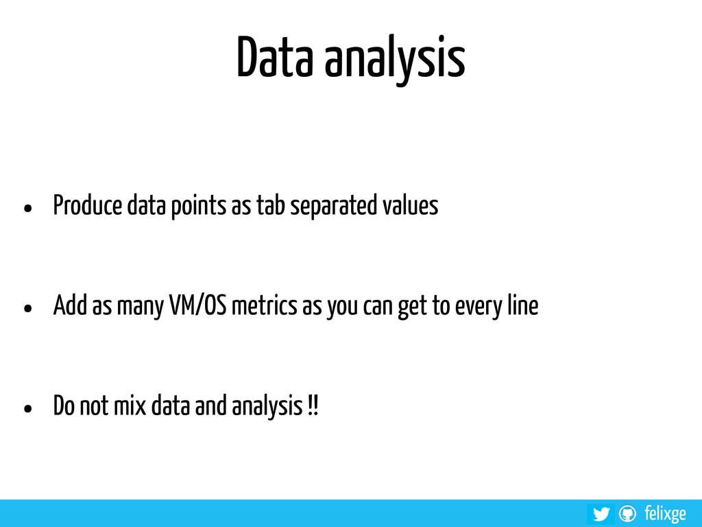@felixge felixge Data analysis • Produce data p...