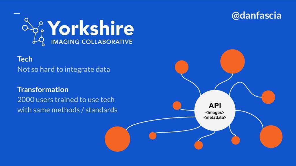 Tech Not so hard to integrate data Transformati...