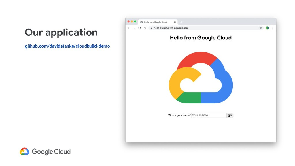Our application github.com/davidstanke/cloudbui...