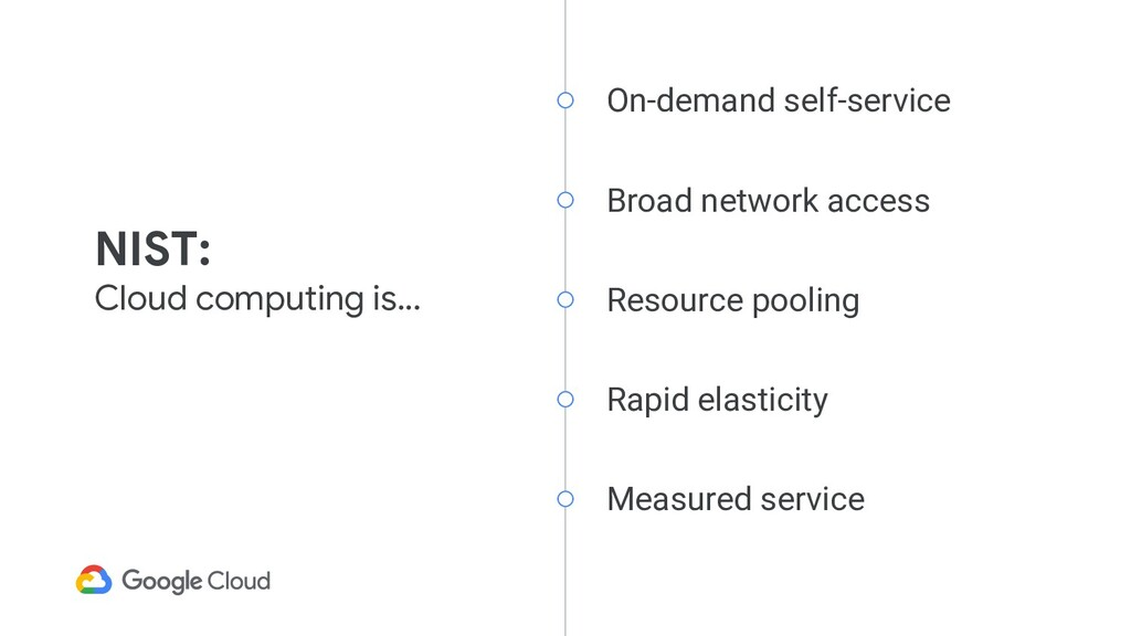 On-demand self-service Broad network access Res...