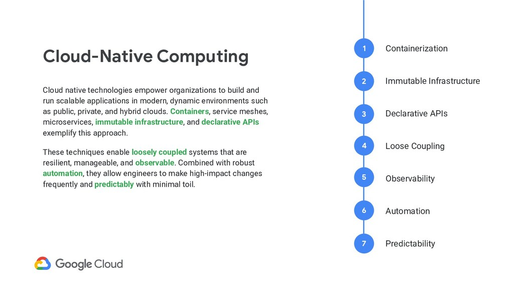 Cloud-Native Computing Cloud native technologie...