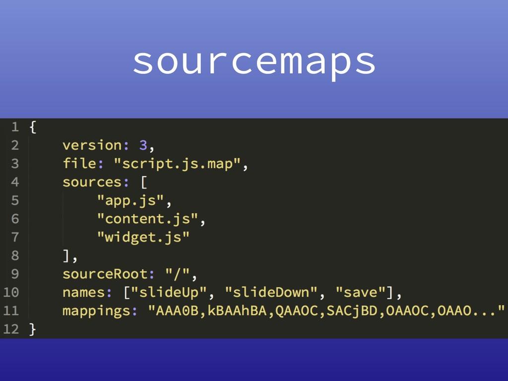 sourcemaps