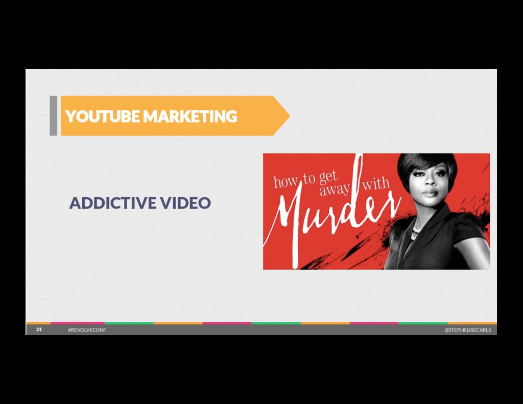 31 YOUTUBE MARKETING 31 ADDICTIVE VIDEO #REVOL...