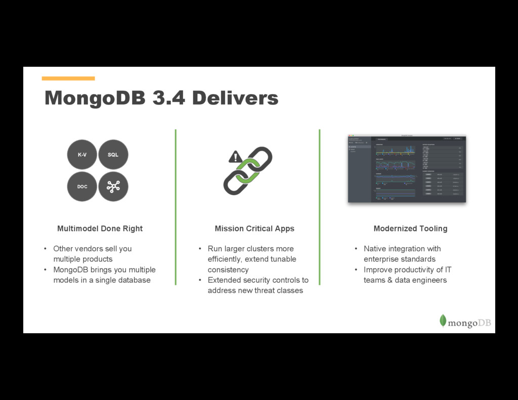 MongoDB 3.4 Delivers Multimodel Done Right • O...
