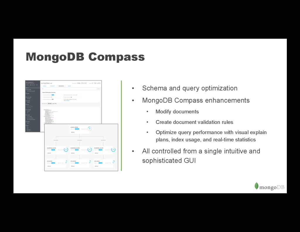 MongoDB Compass • Schema and query optimizatio...