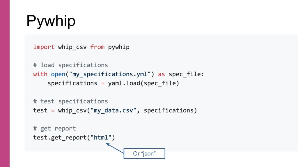 import whip_csv from pywhip # load specificatio...