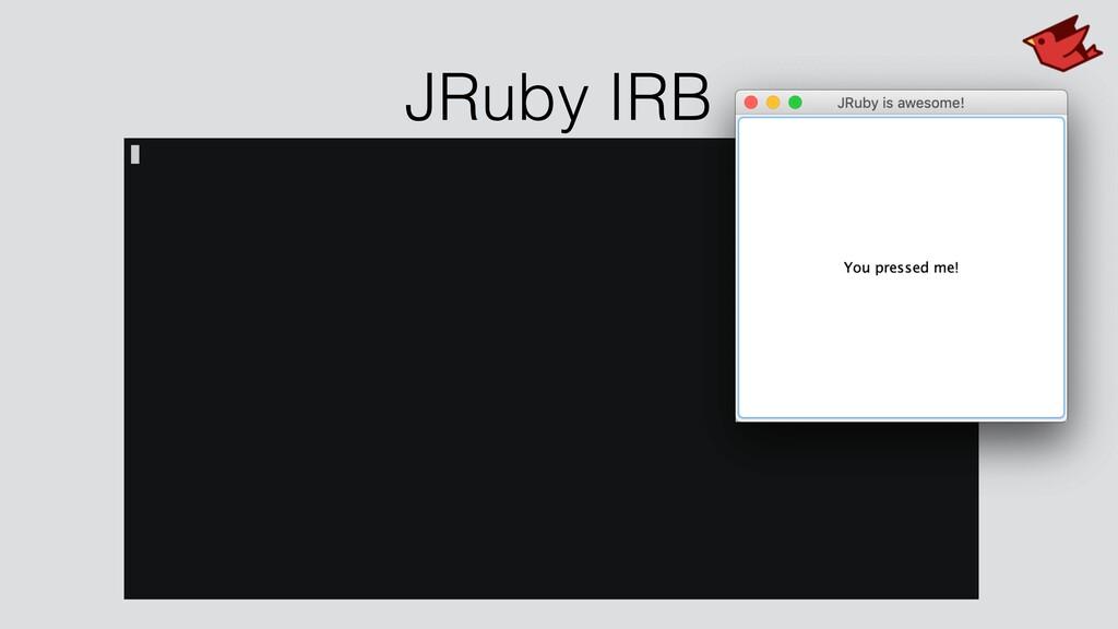 JRuby IRB