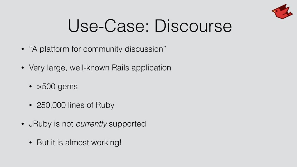 "Use-Case: Discourse • ""A platform for community..."