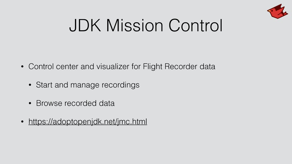 JDK Mission Control • Control center and visual...