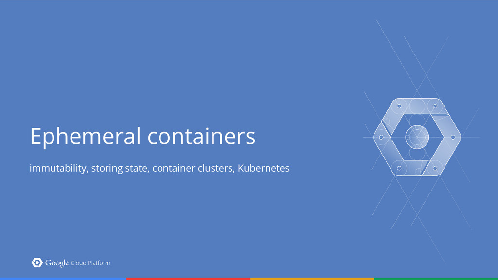 Ephemeral containers immutability, storing stat...