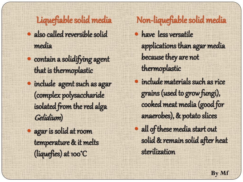 Liquefiable solid media  also called reversibl...