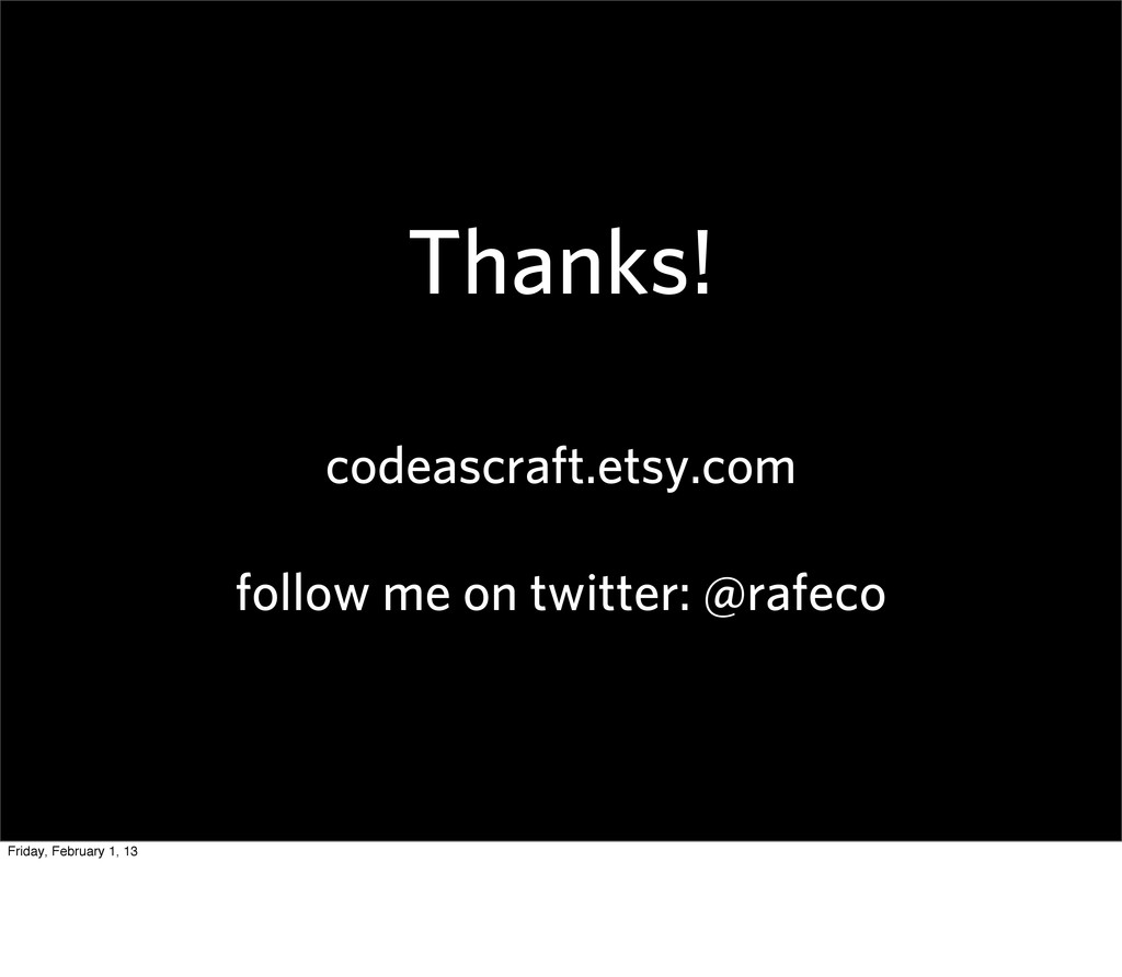 Thanks! codeascraft.etsy.com follow me on twitt...