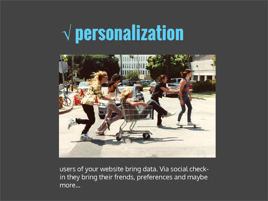 √ personalization users of your website bring d...