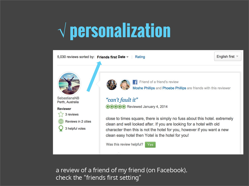 √ personalization a review of a friend of my fr...