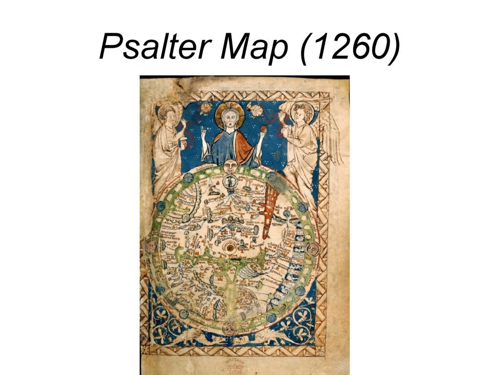 Psalter Map (1260)